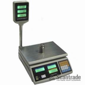 Весы торговые ВТД-ЕД (F902H-EC)