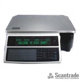Весы с печатью этикетки Digi SM-100B Plus