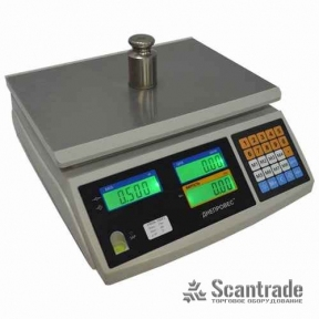 Весы торговые ВТД-СЛ1 (F902H-EC1)