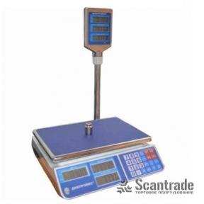 Весы торговые ВТД-СЛ (F902H-CL)