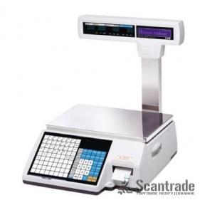Весы с печатью этикетки CAS CL5000J-IP/R