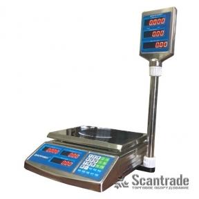 Весы торговые ВТД-ЕЛС (F902H-EDS)