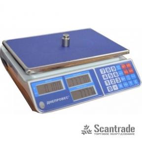 Весы торговые ВТД-СЛ1 (F902H-СL1)