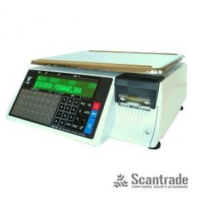 Весы с печатью этикетки Digi SM-100CSB Plus