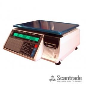 Весы с печатью этикетки Digi SM-100CSB